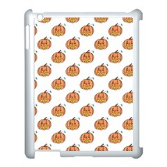Face Mask Ghost Halloween Pumpkin Pattern Apple Ipad 3/4 Case (white)
