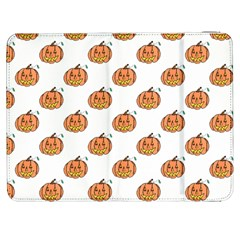 Face Mask Ghost Halloween Pumpkin Pattern Samsung Galaxy Tab 7  P1000 Flip Case