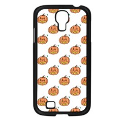 Face Mask Ghost Halloween Pumpkin Pattern Samsung Galaxy S4 I9500/ I9505 Case (black) by Alisyart