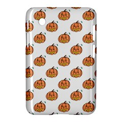 Face Mask Ghost Halloween Pumpkin Pattern Samsung Galaxy Tab 2 (7 ) P3100 Hardshell Case