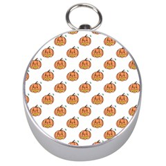 Face Mask Ghost Halloween Pumpkin Pattern Silver Compasses by Alisyart