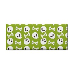 Skull Bone Mask Face White Green Cosmetic Storage Cases