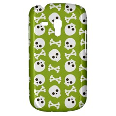 Skull Bone Mask Face White Green Galaxy S3 Mini