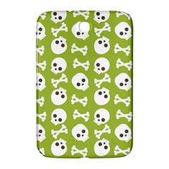 Skull Bone Mask Face White Green Samsung Galaxy Note 8.0 N5100 Hardshell Case