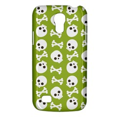 Skull Bone Mask Face White Green Galaxy S4 Mini