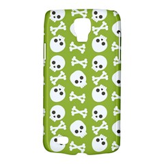 Skull Bone Mask Face White Green Galaxy S4 Active
