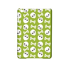 Skull Bone Mask Face White Green iPad Mini 2 Hardshell Cases