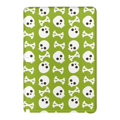 Skull Bone Mask Face White Green Samsung Galaxy Tab Pro 12.2 Hardshell Case