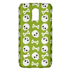 Skull Bone Mask Face White Green Galaxy S5 Mini