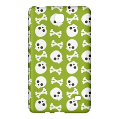 Skull Bone Mask Face White Green Samsung Galaxy Tab 4 (7 ) Hardshell Case