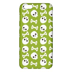 Skull Bone Mask Face White Green iPhone 6 Plus/6S Plus TPU Case