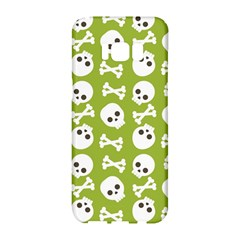 Skull Bone Mask Face White Green Samsung Galaxy S8 Hardshell Case