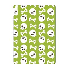 Skull Bone Mask Face White Green Apple iPad Pro 10.5   Hardshell Case