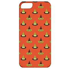Hat Wicked Witch Ghost Halloween Red Green Black Apple Iphone 5 Classic Hardshell Case by Alisyart