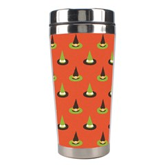 Hat Wicked Witch Ghost Halloween Red Green Black Stainless Steel Travel Tumblers