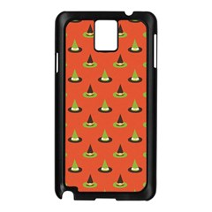 Hat Wicked Witch Ghost Halloween Red Green Black Samsung Galaxy Note 3 N9005 Case (black) by Alisyart