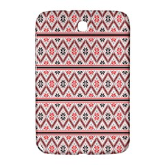 Red Flower Star Patterned Samsung Galaxy Note 8 0 N5100 Hardshell Case  by Alisyart
