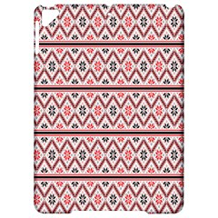 Red Flower Star Patterned Apple Ipad Pro 9 7   Hardshell Case