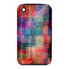 Rainbow Prism Plaid  Iphone 3s/3gs by KirstenStar