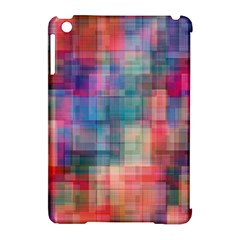 Rainbow Prism Plaid  Apple Ipad Mini Hardshell Case (compatible With Smart Cover) by KirstenStar