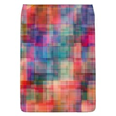 Rainbow Prism Plaid  Flap Covers (l)  by KirstenStar