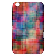 Rainbow Prism Plaid  Samsung Galaxy Tab 3 (8 ) T3100 Hardshell Case  by KirstenStar