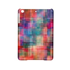 Rainbow Prism Plaid  Ipad Mini 2 Hardshell Cases by KirstenStar