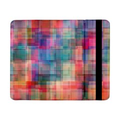 Rainbow Prism Plaid  Samsung Galaxy Tab Pro 8 4  Flip Case by KirstenStar