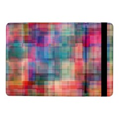 Rainbow Prism Plaid  Samsung Galaxy Tab Pro 10 1  Flip Case by KirstenStar