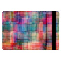 Rainbow Prism Plaid  Ipad Air Flip by KirstenStar