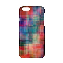 Rainbow Prism Plaid  Apple Iphone 6/6s Hardshell Case by KirstenStar
