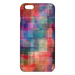 Rainbow Prism Plaid  Iphone 6 Plus/6s Plus Tpu Case by KirstenStar