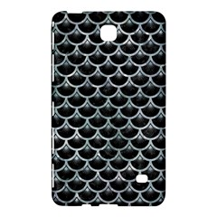 Scales3 Black Marble & Ice Crystals (r) Samsung Galaxy Tab 4 (8 ) Hardshell Case  by trendistuff
