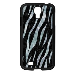 Skin3 Black Marble & Ice Crystals (r) Samsung Galaxy S4 I9500/ I9505 Case (black) by trendistuff