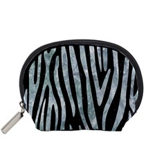 Skin4 Black Marble & Ice Crystals Accessory Pouches (small)