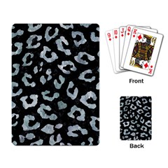 Skin5 Black Marble & Ice Crystals Playing Card by trendistuff