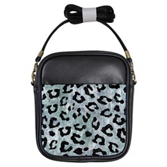 Skin5 Black Marble & Ice Crystals (r) Girls Sling Bags by trendistuff