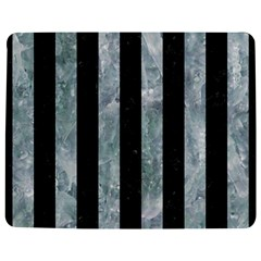 Stripes1 Black Marble & Ice Crystals Jigsaw Puzzle Photo Stand (rectangular)