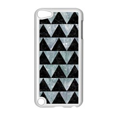 Triangle2 Black Marble & Ice Crystals Apple Ipod Touch 5 Case (white) by trendistuff