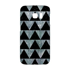 Triangle2 Black Marble & Ice Crystals Galaxy S6 Edge