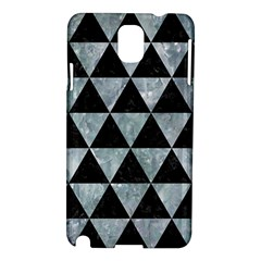 Triangle3 Black Marble & Ice Crystals Samsung Galaxy Note 3 N9005 Hardshell Case by trendistuff