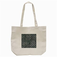 Woven2 Black Marble & Ice Crystals Tote Bag (cream)