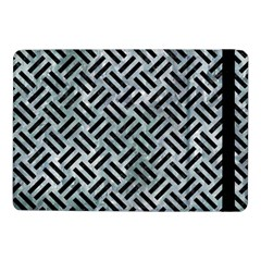 Woven2 Black Marble & Ice Crystals Samsung Galaxy Tab Pro 10 1  Flip Case by trendistuff