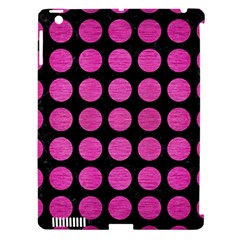 Circles1 Black Marble & Pink Brushed Metal (r) Apple Ipad 3/4 Hardshell Case (compatible With Smart Cover) by trendistuff