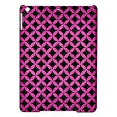 Circles3 Black Marble & Pink Brushed Metal (r) Ipad Air Hardshell Cases by trendistuff