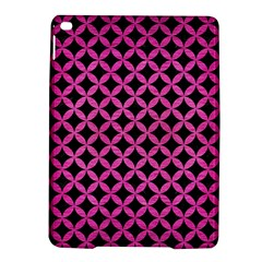 Circles3 Black Marble & Pink Brushed Metal (r) Ipad Air 2 Hardshell Cases by trendistuff