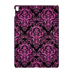 Damask1 Black Marble & Pink Brushed Metal (r) Apple Ipad Pro 10 5   Hardshell Case by trendistuff