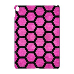 Hexagon2 Black Marble & Pink Brushed Metal Apple Ipad Pro 10 5   Hardshell Case by trendistuff