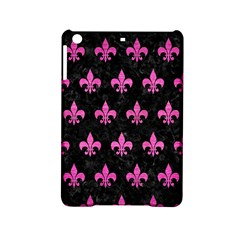 Royal1 Black Marble & Pink Brushed Metal Ipad Mini 2 Hardshell Cases by trendistuff