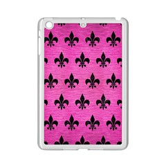 Royal1 Black Marble & Pink Brushed Metal (r) Ipad Mini 2 Enamel Coated Cases by trendistuff
